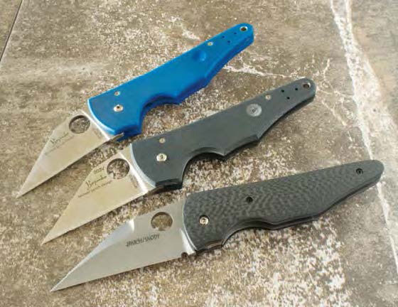 Folding tactical Wharncliffe knife