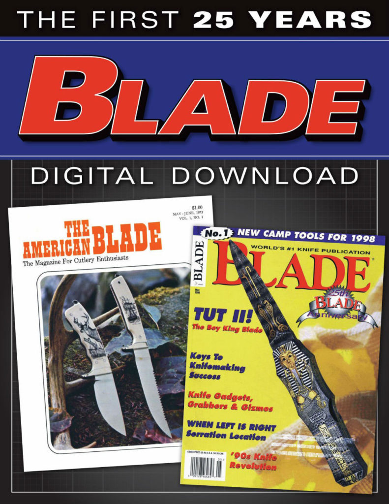 Download BLADE magazine back issues