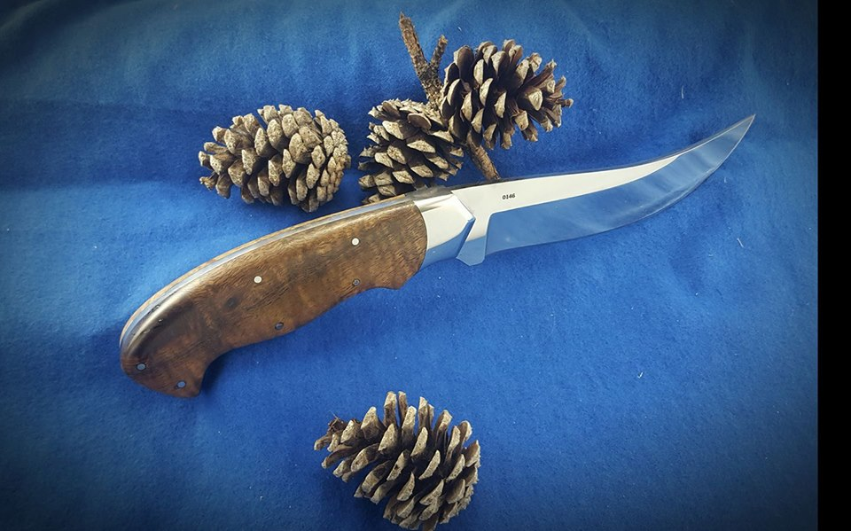 Devin Bliss's second attempt at photographing his knife was another step forward in his photographic journey.