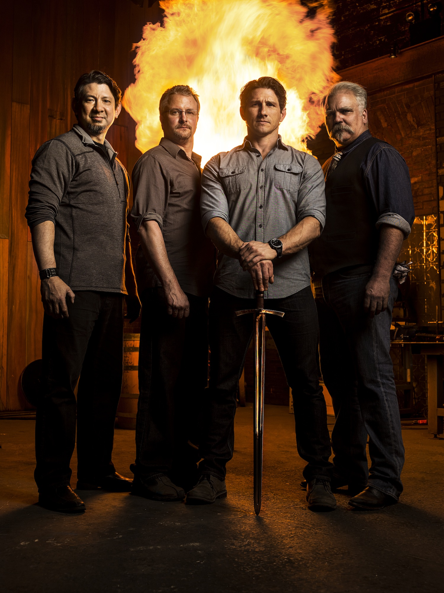 Forged In Fire on The History Channel.