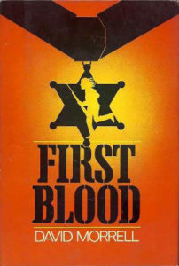 cover of rambo book first blood