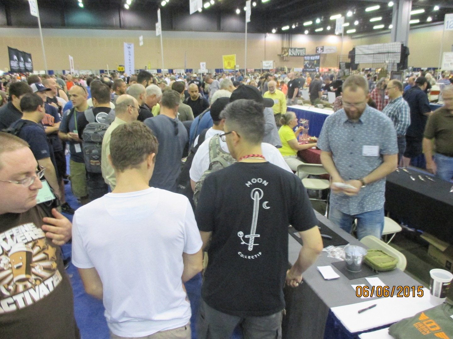 BLADE Show has record crowds.