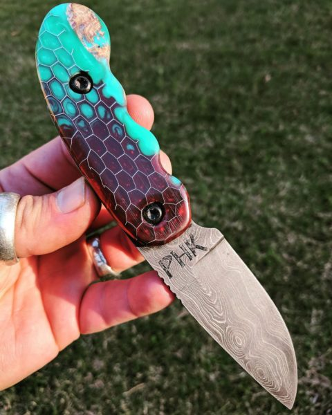 The Lil Chubby drop-point is made by Randy Madan of Patriot Horde Knives.