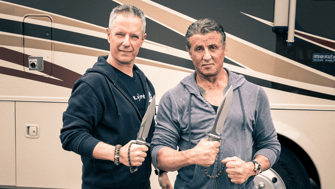 Rambo V knives