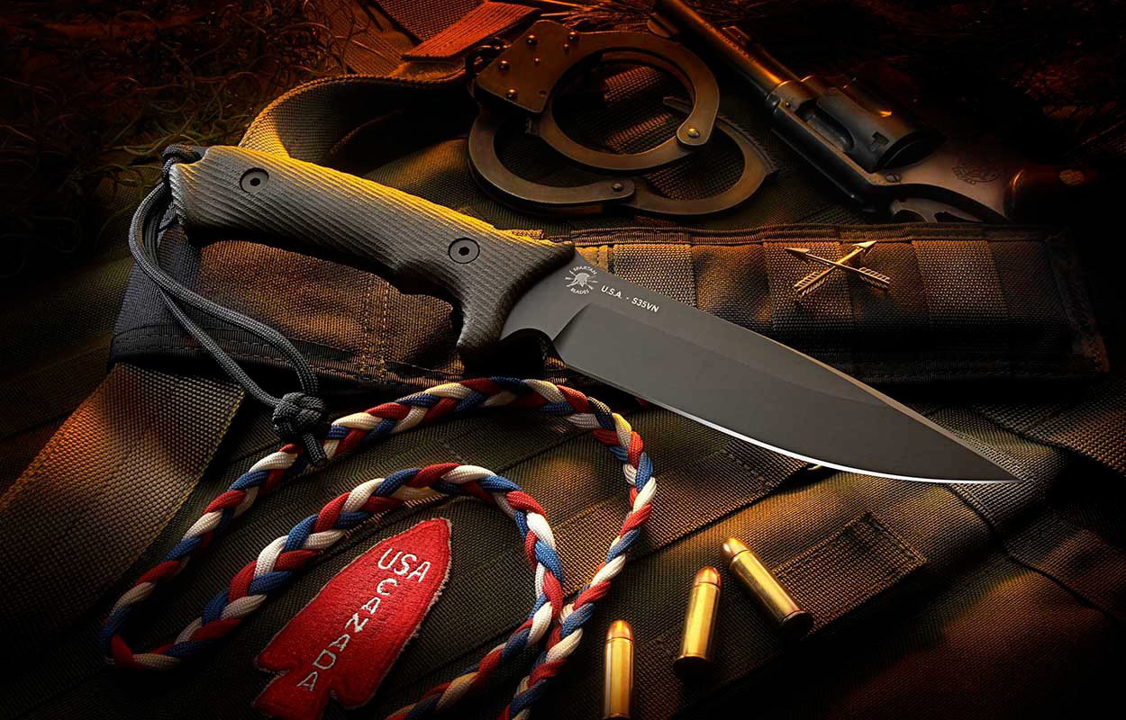 Spartan military knives