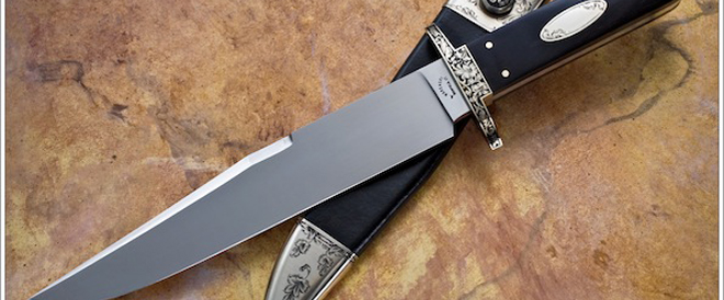 No mention of the greatest knifemakers is complete without mention of Buster Warenski. (SharpByCoop.com photo)