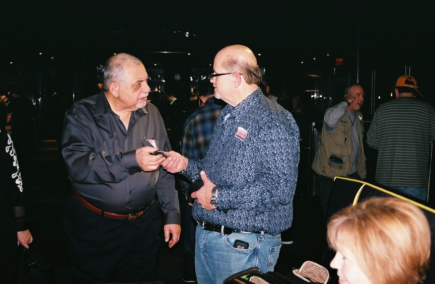Top knifemakers at the NYC Show will include Bob Terzuola (left) and Darrel Ralph (right).