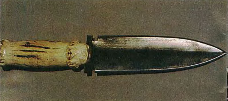 bad guys knife the last of the mohicans
