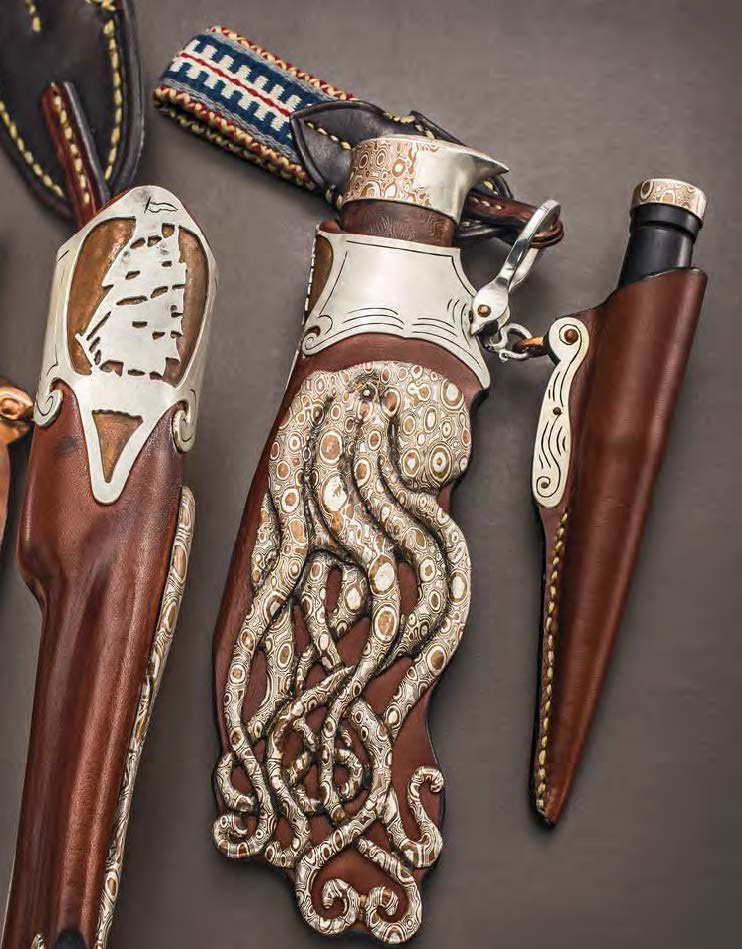 custom creative knife sheaths