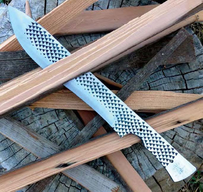 Make a Bowie Knife in 10 Steps - Blade