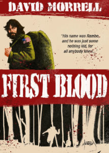 First Blood Rambo book by David Morrell