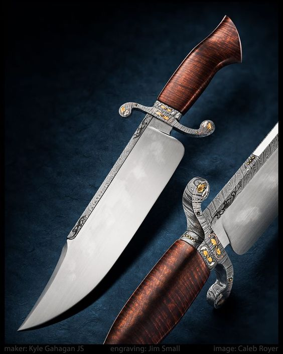Kyle Gahagan knives are sometimes offered for sale through ExquisiteKnives.com.