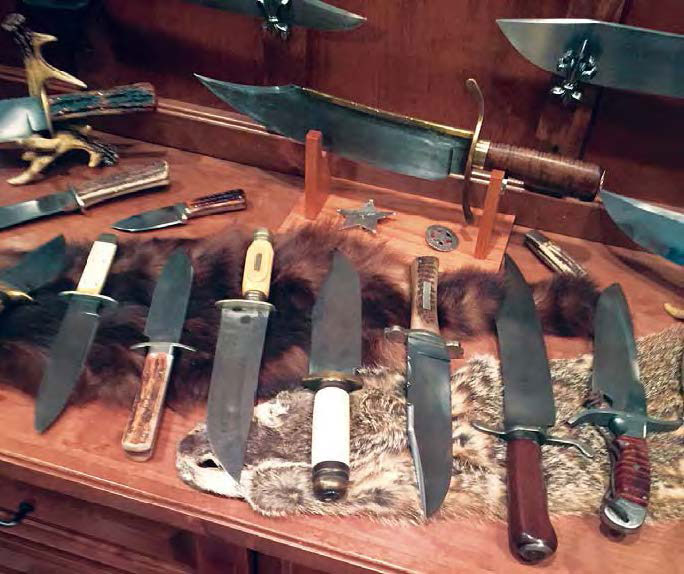 joe musso bowie knife reproduction