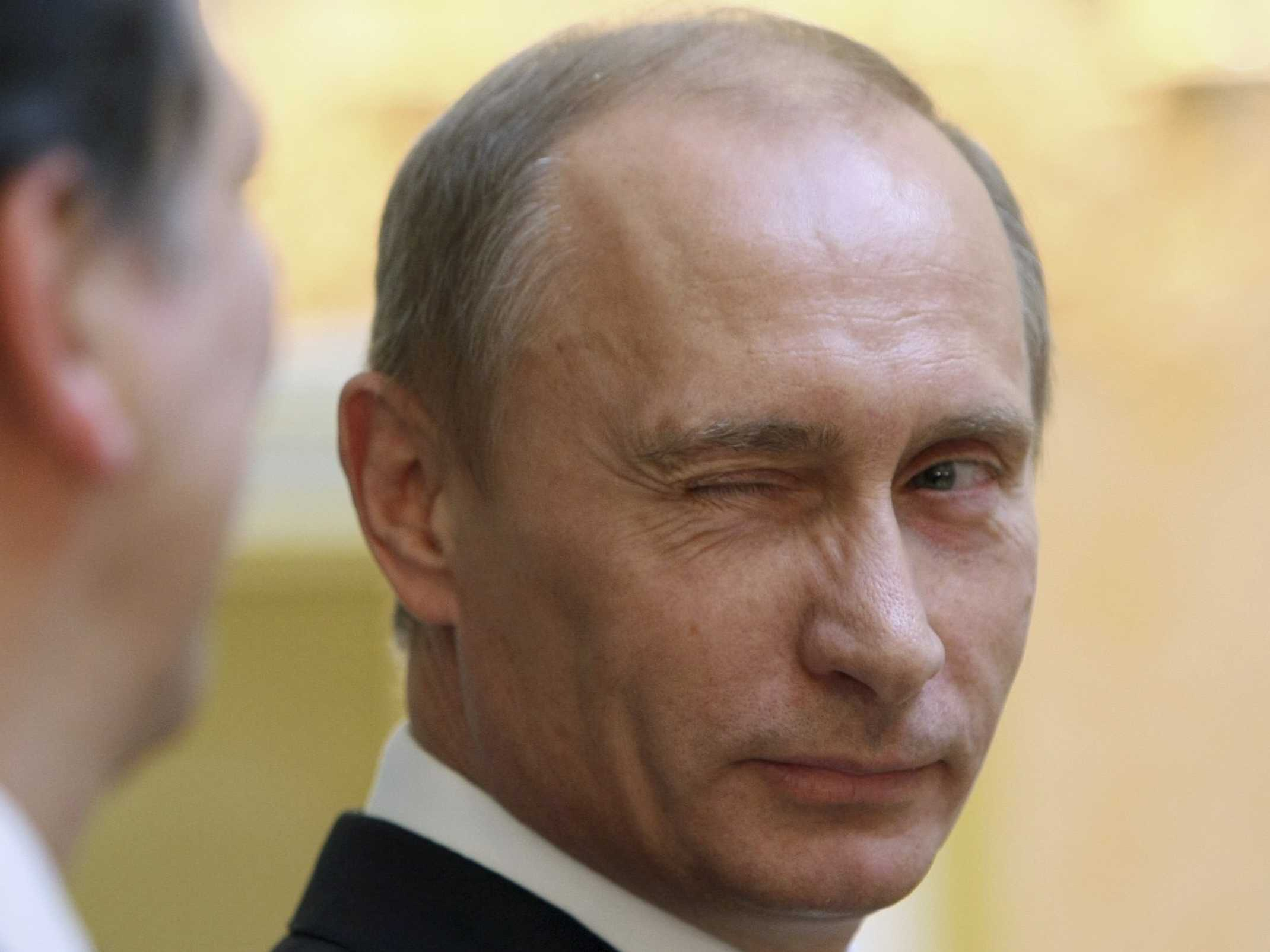 Excalibur was pulled from rock by Putin.